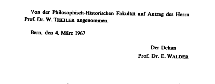 An aside  A striking  mostly unsurprising  thing to see in Egli     s acknowledgments is that in his long list of professors whose lectures and seminars he     semantics etc